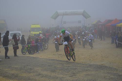 AionSur 27922414849_23a64f14f9 Más de 500 bikers desafían al mal tiempo para disfrutar de la BTT Ciclismo Deportes