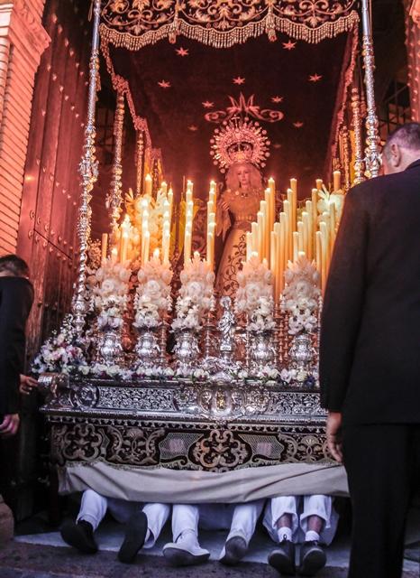 AionSur MG_6235 Virgen de los Dolores de la Misericordia: 75 años de fe a una imagen de Castillo Lastrucci Semana Santa