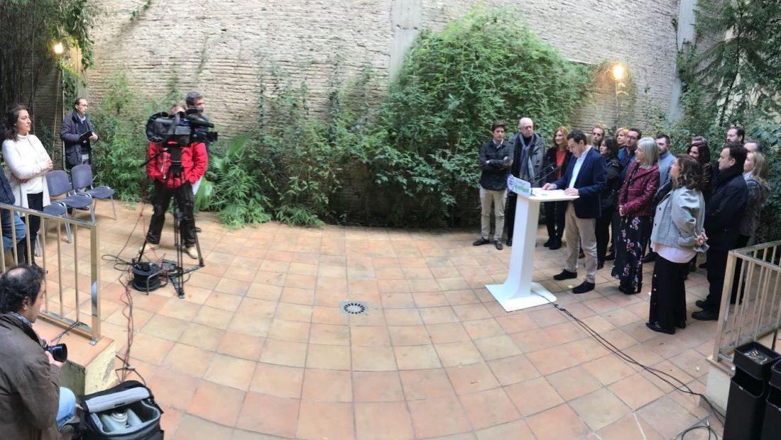 AionSur PP_A El PP andaluz pone el foco en Ciudadanos y su apoyo al PSOE en la Junta Política