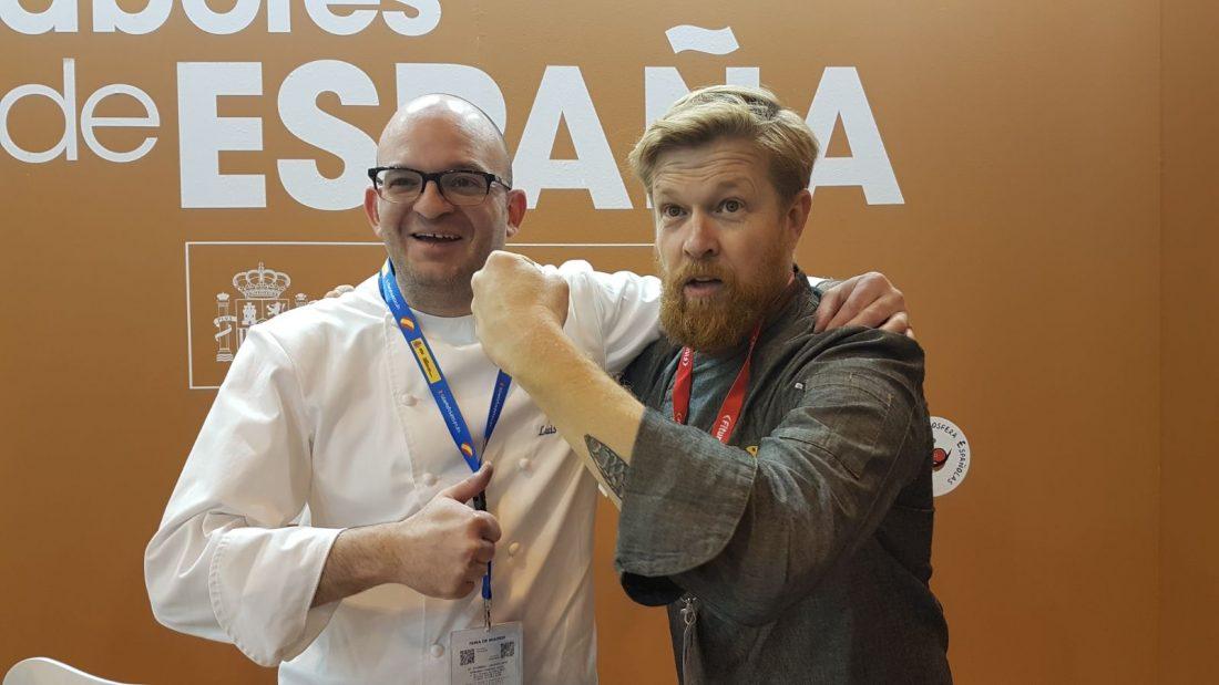 AionSur daniel-del-toro-luis-portillo Luis Portillo y Daniel del Toro marcan la agenda gastronómica española en FITUR Sociedad