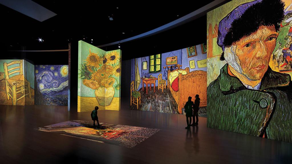 AionSur van-gogh Llega a Sevilla la exposición para disfrutar de Van Gogh con los cinco sentidos Cultura