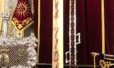 AionSur cirio-400x240 La Misericordia de Arahal coloca un recuerdo a Gabriel Cruz en el cirio del donante de órgano Semana Santa