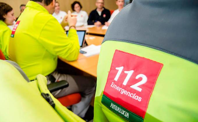 AionSur emergencias-112 Evacuado un trabajador de un teatro de Sevilla tras sufrir una descarga Sevilla Sucesos