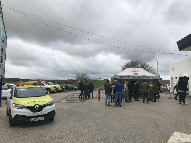 AionSur esta-1 Se reanuda la búsqueda del cabo de la Guardia Civil que cayó al arroyo de Guillena Sucesos