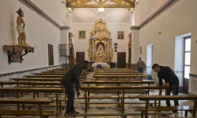 AionSur iglesia-400x240 Marines de EEUU ayudan a mantener en buen estado una iglesia de El Coronil El Coronil