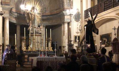 AionSur parroco-2-400x240 El párroco de Arahal dedica una oración del Vía Crucis de Jesús Nazareno a Gabriel Cruz Semana Santa