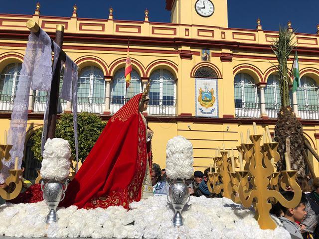 AionSur virgen-1 El colegio de San Roque dedica su cofradía infantil a Gabriel Cruz Educación Semana Santa