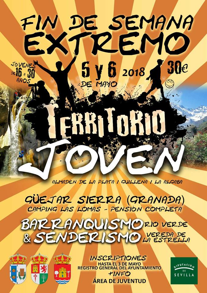 AionSur cartel-territorio-joven Territorio Joven propone un fin de semana de senderismo en Granada Sociedad