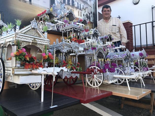 AionSur Carretas-AION Las carretas rocieras: algo más que una afición para un vecino de Gines Cultura
