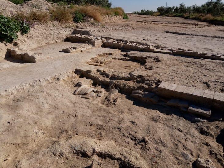 AionSur WhatsApp-Image-2018-05-03-at-10.59.07-2 Las obras de la SE-40 sacan a la luz una aldea andalusí del siglo XII Cultura