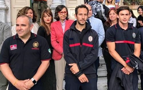 AionSur bomberos-lesbos Aprobadas las distinciones de la provincia de Sevilla, con homenaje a los bomberos de Lesbos Sevilla