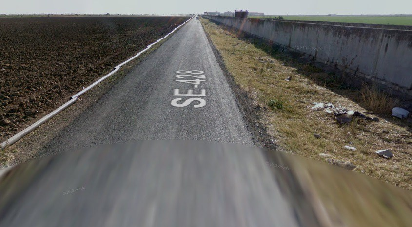 AionSur carretera-Trajano En marcha el acuerdo para el arreglo de la carretera de Trajano en Utrera Utrera