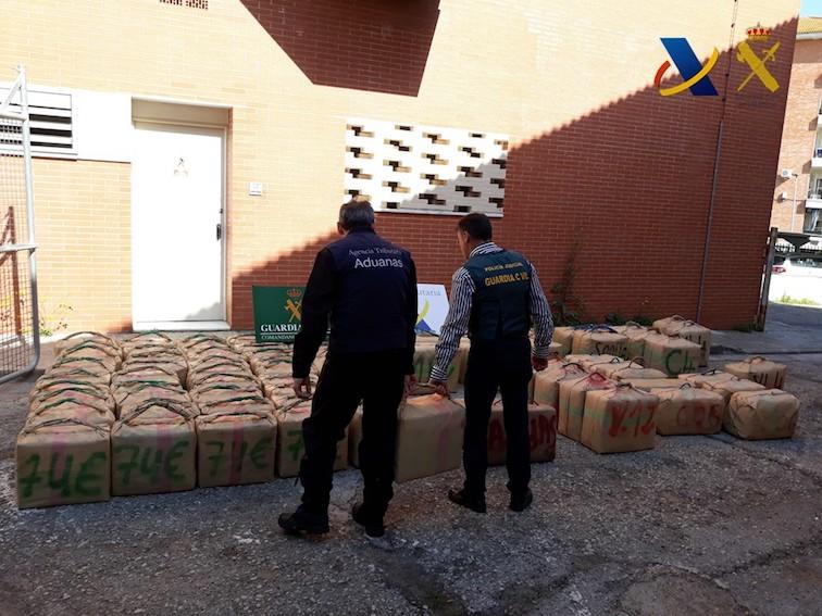 AionSur drogas-Lebrija-2 Aprehendidos más de 2.500 kilos de hachís en Lebrija Sucesos