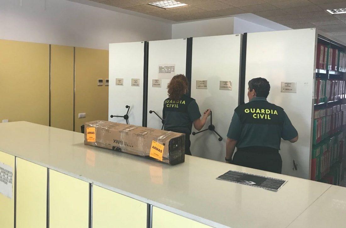 AionSur guardia-civil-armas En marcha un servicio de cita previa en intervenciones de armas y explosivos Sociedad