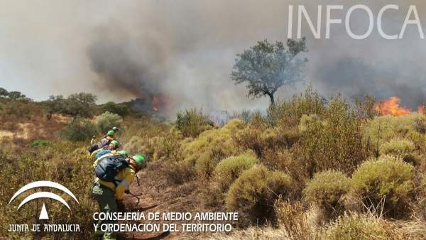 AionSur incendio-castillo Las quemas de rastrojos se prohíben desde hoy por peligro de incendios Sociedad