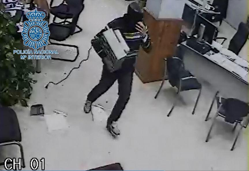 AionSur robo Detenido en Dos Hermanas tras varios robos con arma de fuego Sucesos