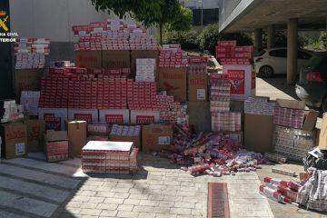 AionSur tabaco-ilegal-360x240 Cuatro detenidos e intervenidas 10.000 cajetillas de tabaco de contrabando en Los Palacios Sucesos