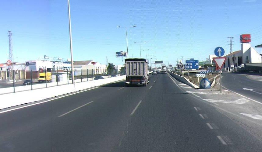 AionSur A92-PK4-obras La Junta mejora el firme de la A-92 en sus primeros 11 kilómetros entre Sevilla y Alcalá de Guadaíra Sevilla