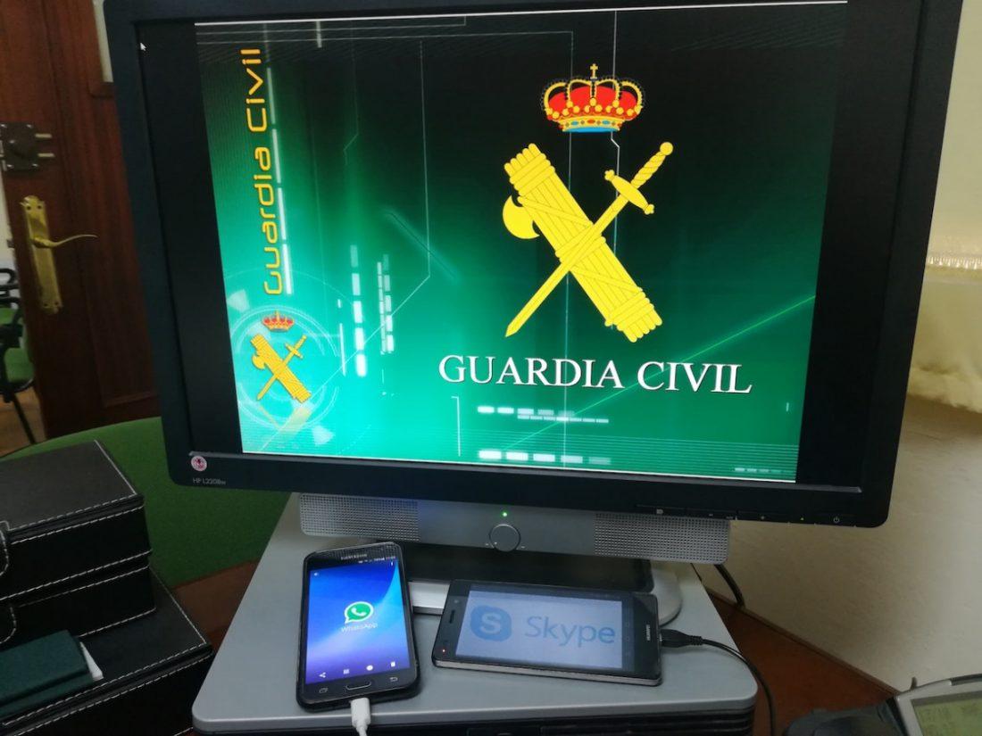 AionSur Guardia_Civil Rescatado un tejón en una balsa de riego en El Saucejo El Saucejo  destacado