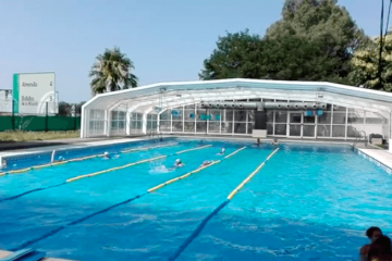 AionSur Piscina-Palomares-360x240 Dos miembros de La Manada, increpados al acceder a la piscina pública de Palomares del Río Sucesos