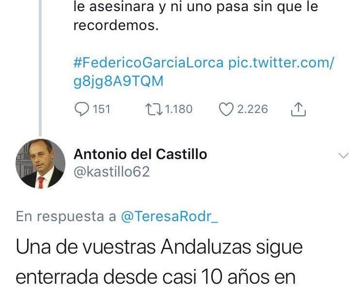 AionSur Teresa-745x600 El padre de Marta del Castillo reprocha a la líder de Podemos que se recuerde a Lorca y no a su hija Sucesos