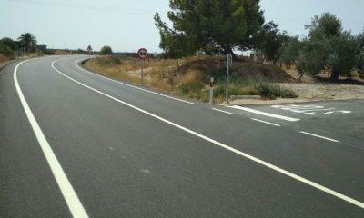 """AionSur carretera-Morón-obras-1-400x240 Las nuevas líneas continuas de la carretera de Morón """"encierran"""" a los agricultores en sus fincas Arahal Morón de la Frontera"""