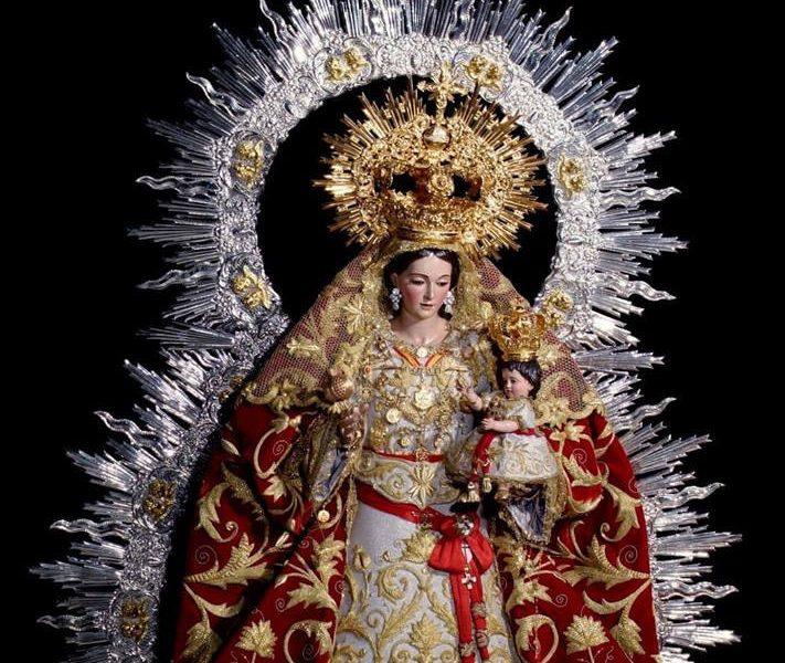 AionSur cartel-virgen-granada-711x600 Pregón, ofrenda floral, el besamanos y la Novena de la Virgen de la Granada en Guillena Semana Santa