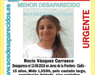AionSur desaparecida-jerez-378x300 Buscan en el barrio de Los Pajaritos a una menor de 15 años desaparecida este lunes Sucesos