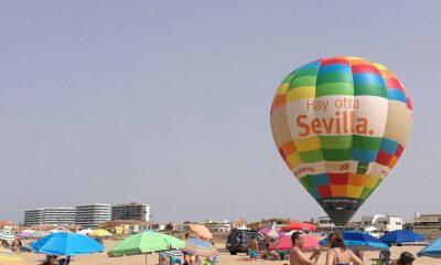 """AionSur globo-aerostático-Sevilla-400x240 El globo aerostático """"Hay otra Sevilla"""", once años recorriendo la costa andaluza y playas portuguesas Sevilla"""
