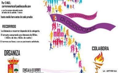 AionSur milla-puebla-400x240 La Puebla se prepara para su Milla Urbana Deportes