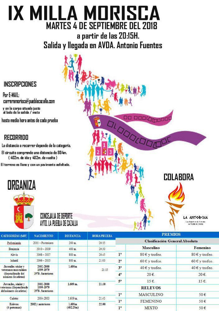 AionSur milla-puebla La Puebla se prepara para su Milla Urbana Deportes