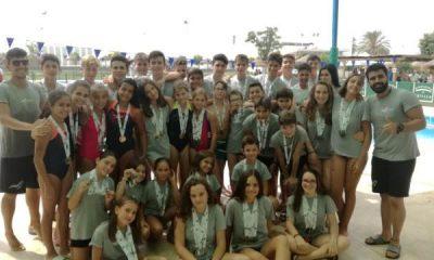 AionSur natacion2-400x240 53 medallas para el equipo de natación de Arahal Deportes