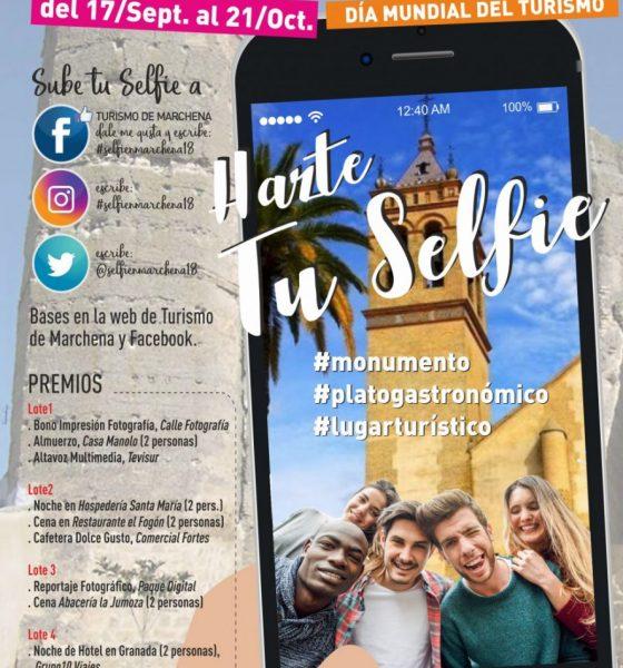 AionSur CARTEL-TURISMO-SELFIE-18-560x600 Marchena vuelve a convocar un concurso de selfi para celebrar el Día Mundial del Turismo Marchena