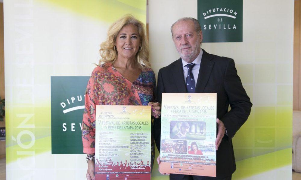 AionSur Castilleja-Diputación-flamenco-1000x600 Castilleja une flamenco y feria de la tapa Diputación Provincia