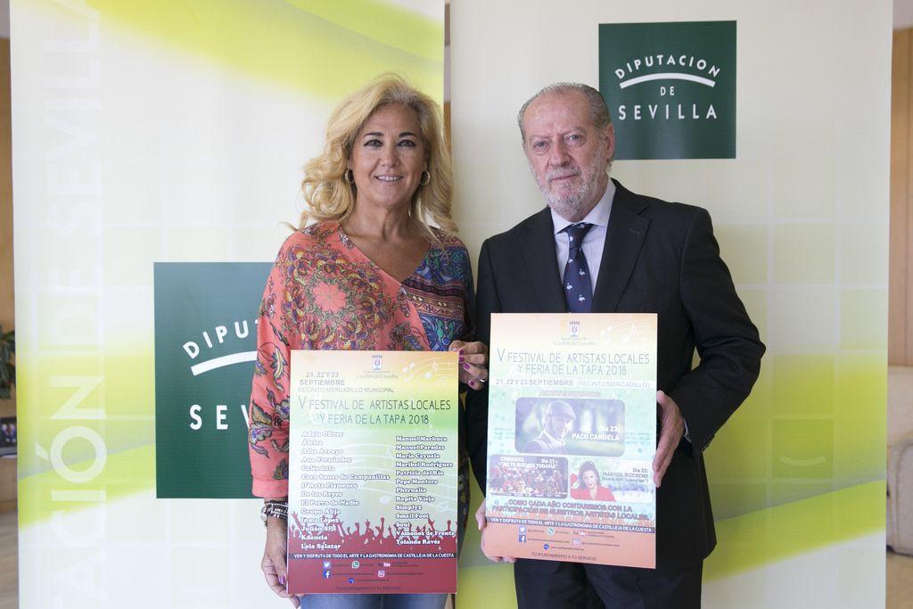 AionSur Castilleja-Diputación-flamenco Castilleja une flamenco y feria de la tapa Diputación Provincia