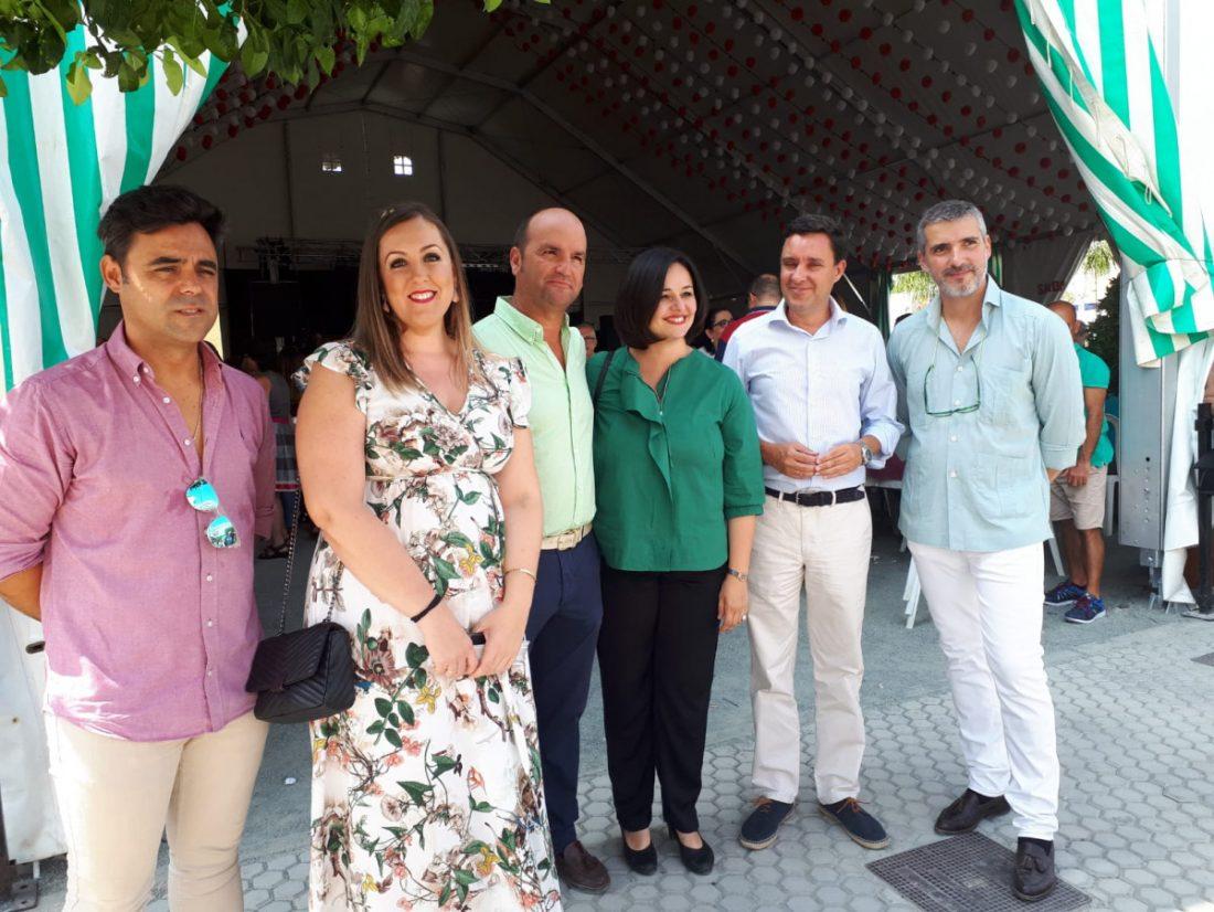 AionSur Visita-Virginia-Feria-Morón PP de Sevilla alerta del abandono del Castillo de Morón y reclama su restauración urgente ante el riesgo de deterioro Morón de la Frontera