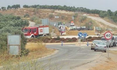 AionSur accidente-saucejo-400x240 Muere un motorista tras chocar contra una señal de tráfico a la entrada de El Saucejo El Saucejo Sucesos