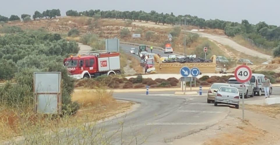 AionSur accidente-saucejo Muere un motorista tras chocar contra una señal de tráfico a la entrada de El Saucejo El Saucejo Sucesos