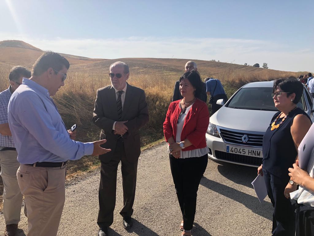 AionSur carretera-fuentes Ganemos critica que no se termine el arreglo de la carretera de Marchena a Fuentes Marchena