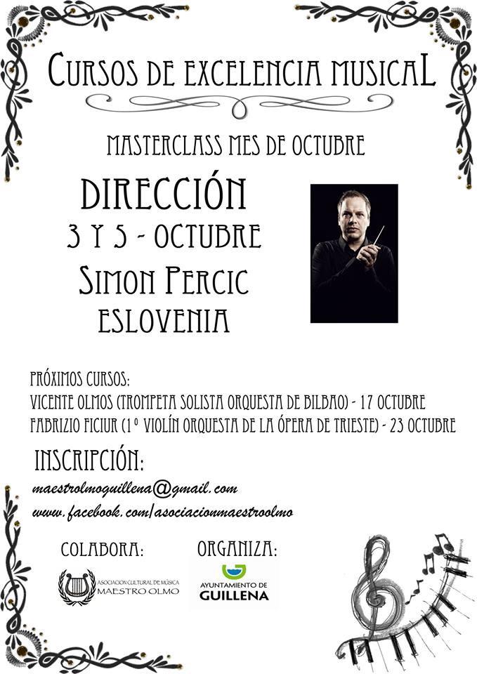 AionSur cartel-curso-de-musica Música de excelencia en Guillena Provincia