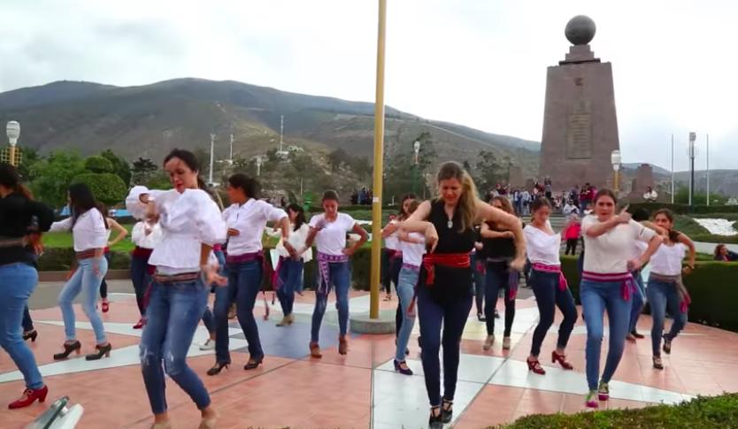 AionSur flamenco-baile El flashmob de apertura de La Bienal se baila en todo el mundo gracias a internet Cultura Flamenco