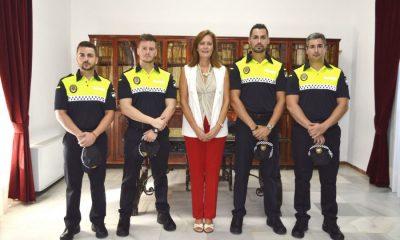 AionSur nuevos-policías-Osuna-400x240 Toman posición de su cargo cuatro nuevos policías en Osuna Osuna