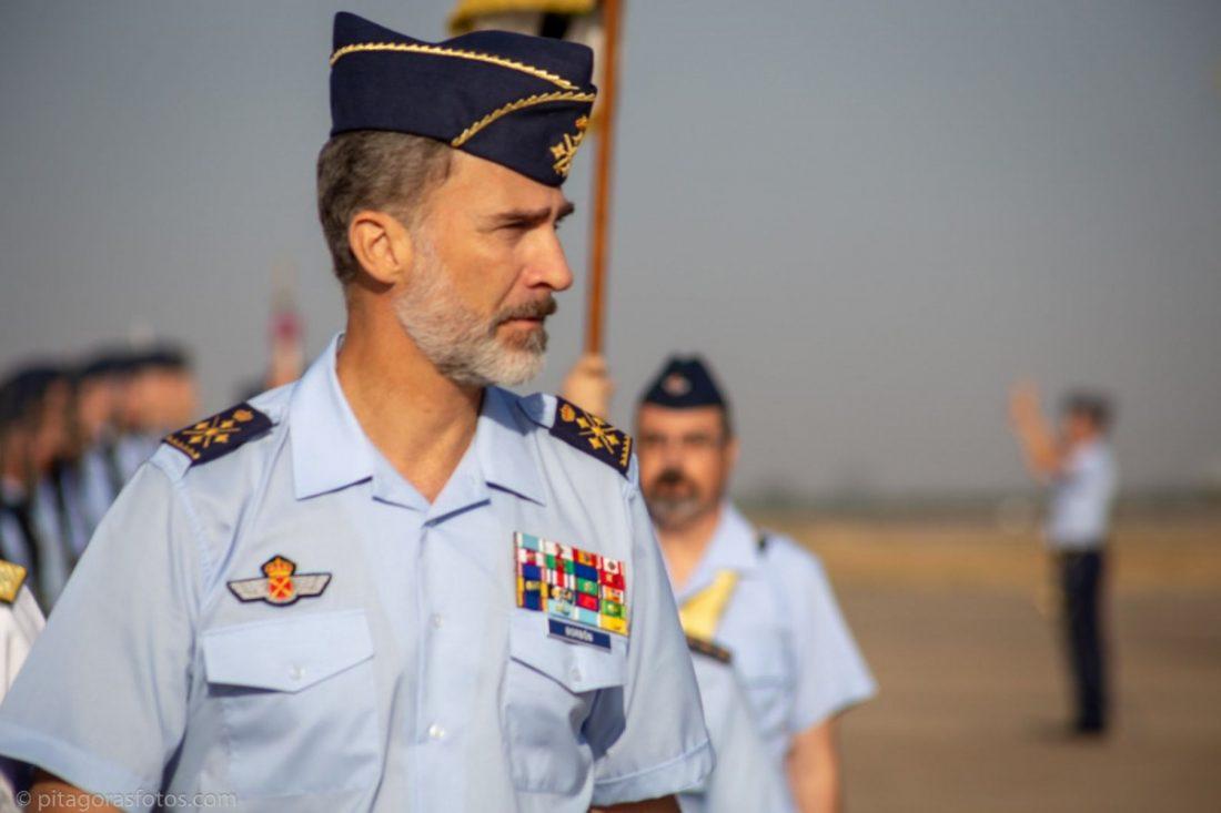 AionSur rey-España El Rey comprueba, diez años después de su última visita, que la Base de Morón es puntera en España Morón de la Frontera