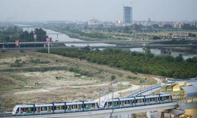 AionSur tren-doble-msevilla-400x240 Metro de Sevilla amplía su horario hasta las 3 de la madrugada por los festivales de música en San Juan y Dos Hermanas Sevilla