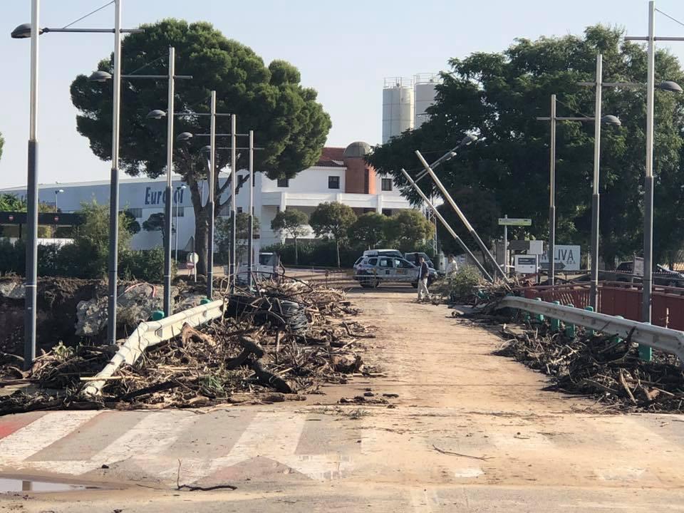 AionSur Aguadulce-inundaciones-riada La Junta Local de Seguridad de El Rubio analiza la gestión de la emergencia tras las inundaciones Provincia