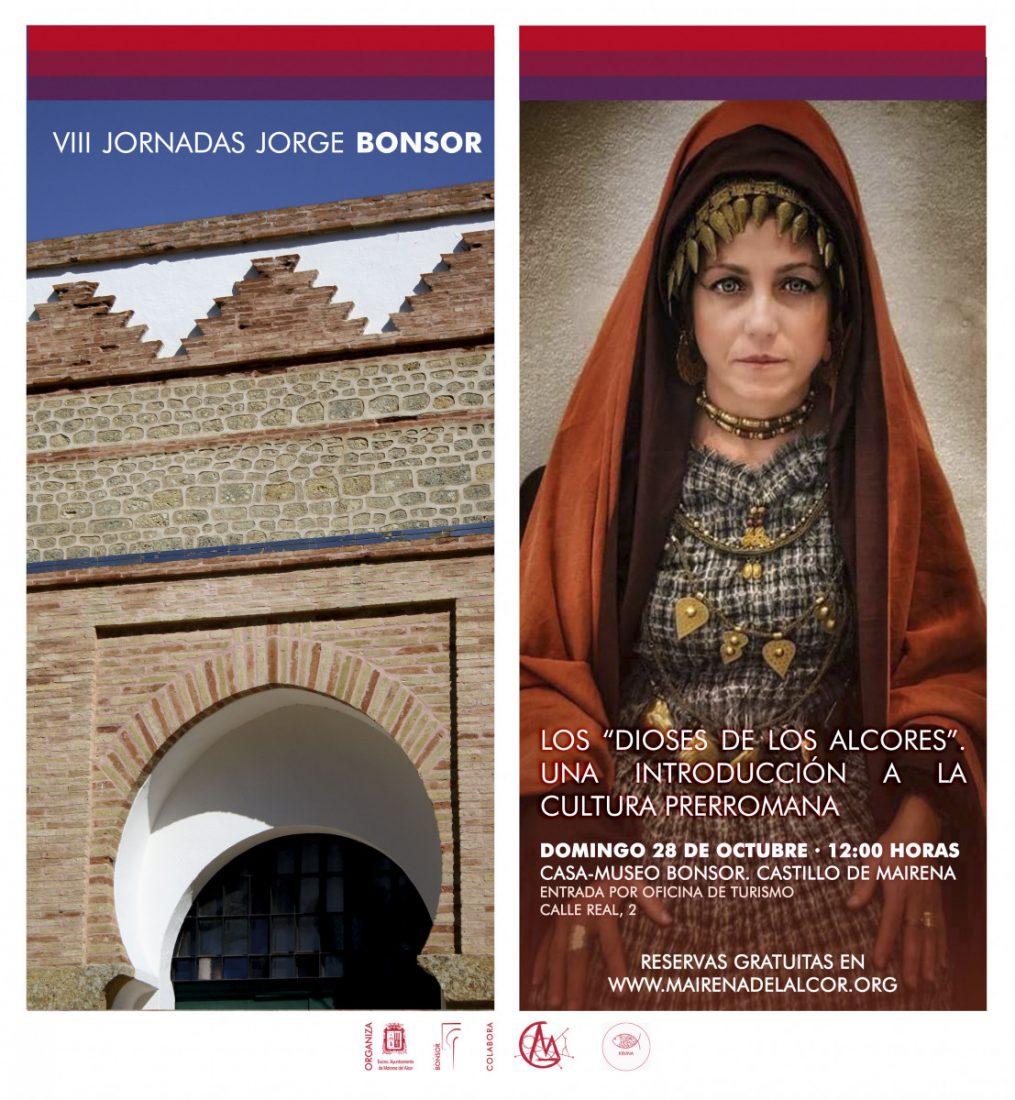 """AionSur AniversarioBonsorDioses """"Los Dioses de los Alcores"""", nueva charla en Mairena dentro de la VIII Jornadas Jorge Bonsor"""