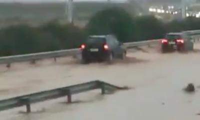 AionSur Autovia-corte-400x240 Cortada de nuevo la A-92 en Osuna (dirección Málaga) por agua y barro en la calzada Sucesos