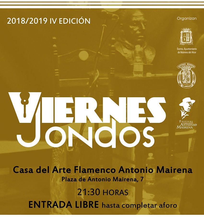 AionSur CartelViernesJondos20182019web-compressor Mairena del Alcor, flamenco en eventos y en las escuelas Mairena del Alcor