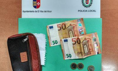AionSur Cartera_Viso-400x240 Encuentra un monedero con 103 euros y lo entrega íntegro a la Policía Sociedad Sucesos