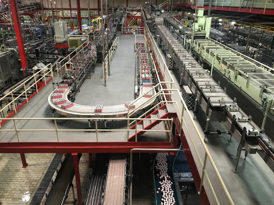 AionSur Coca-cola-aion Coca-Cola convierte su fábrica de La Rinconada en la mayor de Europa Occidental Economía Empresas